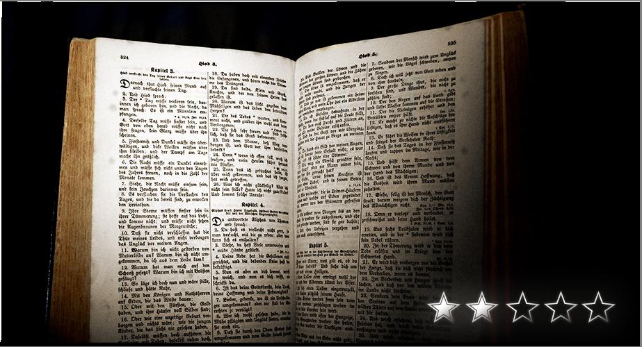 Maximilian Wust - Rezension der Bibel